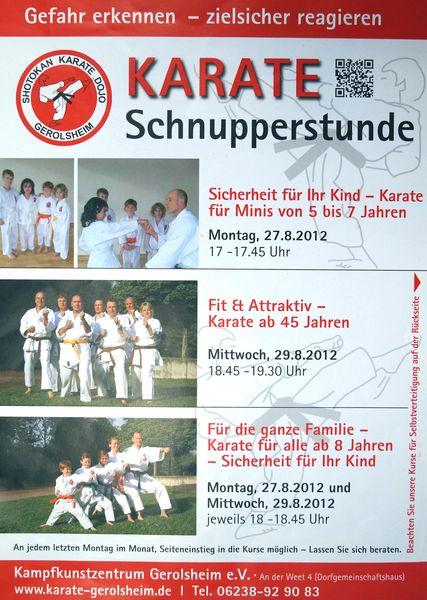 2012-08-27 Karate Einsteigerkurse
